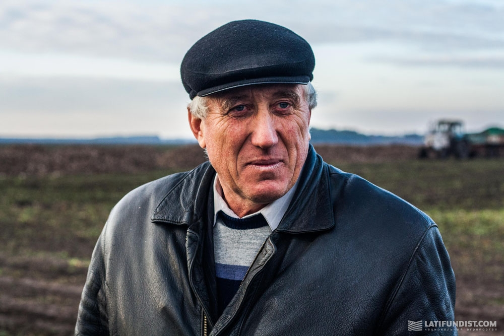Анатолий Лобач, старший агроном